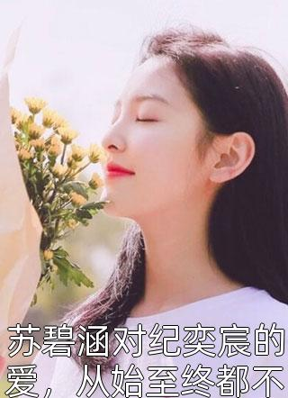 苏碧涵对纪奕宸的爱,从始至终都不曾变过小说